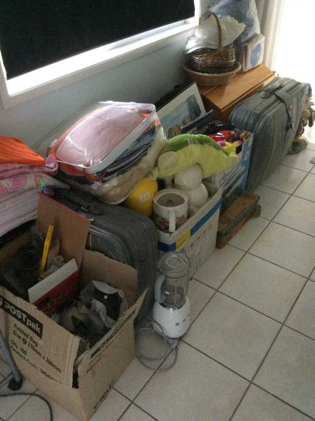 Household items, small furnishings, toys, clothes, glassware, outdoor items, lots of bits and pieces.
