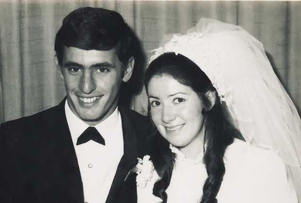 Congratulations Alex and Margaret Coronakes on your Golden Wedding Anniversary. Married at St Andrews...