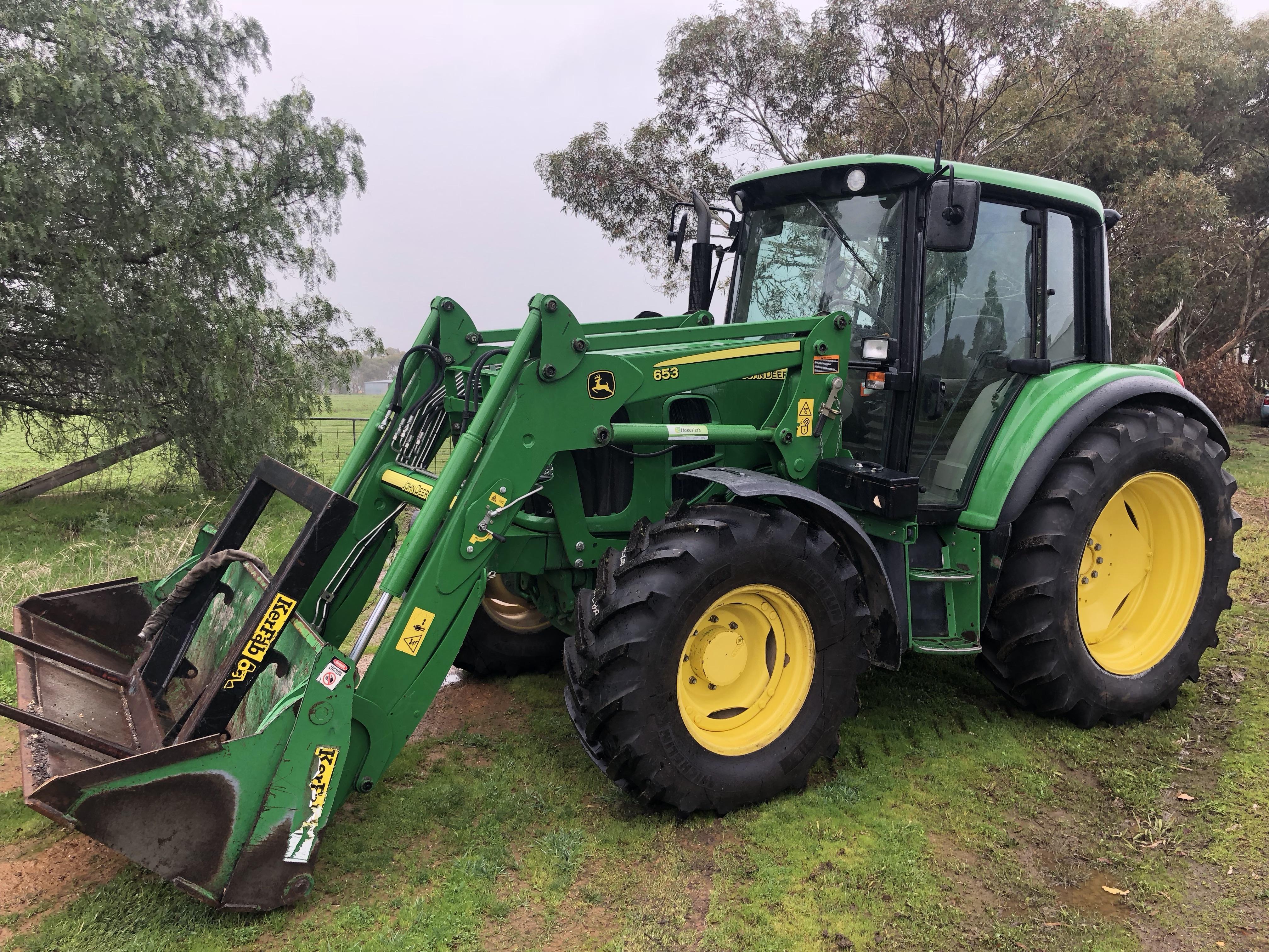 S/H John Deere 6330 4WD cab tractor | Harvesters & Tractors