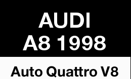 AUDI A8 1998   