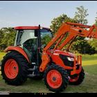 2015 KUBOTA M7040 4x4 Loader Tractor - 10800