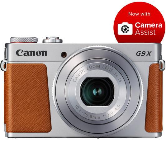 Canon - Silver - PowerShot G9X Mark II Digital Camera | Cameras