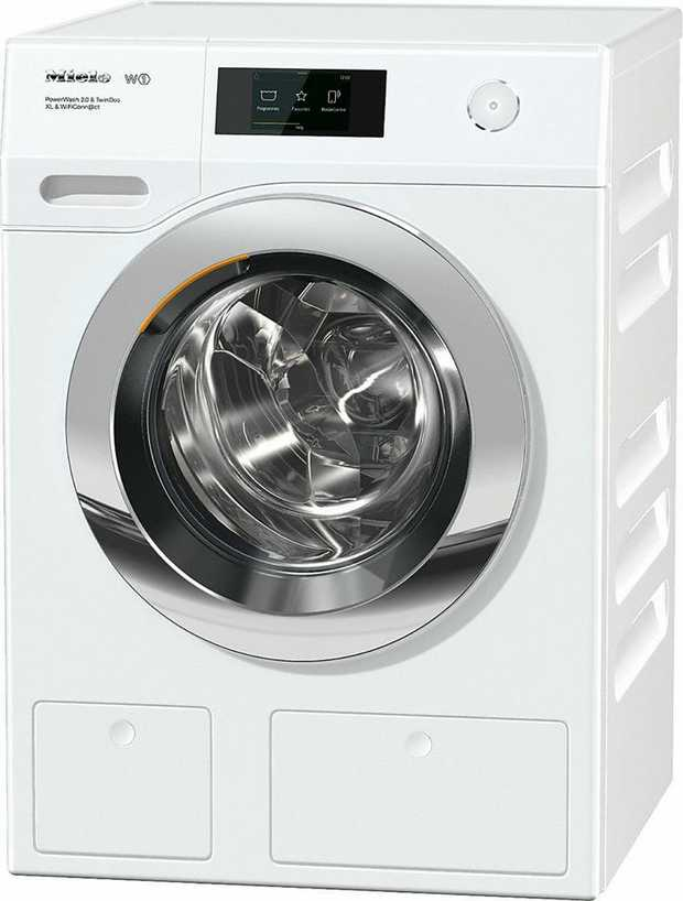 26 wash programmes 1600 rpm spin speed Honeycomb drum with Chrome door M Touch display with clear text...