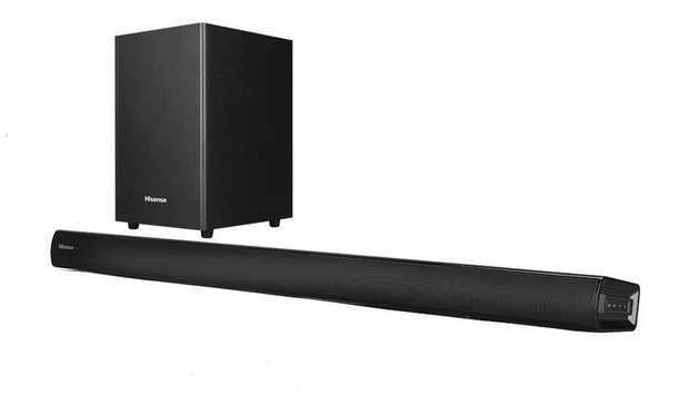 "6.5"" wireless subwoofer Dolby Digital DTS HDMI-ARC, Bluetooth, Aux & USB Can be installed quickly and..."