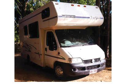 FIAT 2003 Winnebago Free Spirit. Diesel, Shower, Toilet, TV, Fridge, Microwave, A/C, 154,000kms.