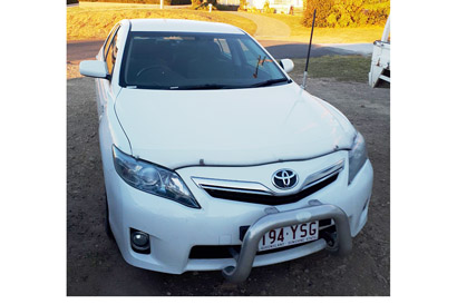 2011 Toyota Camry Hybrid, sedan, new battery, vgc, rwc, 12 months rego, white, nudge bar. Price...