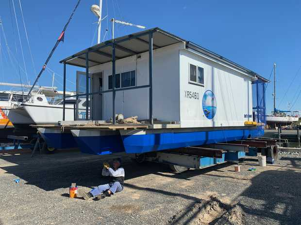 Houseboat 3 Years Old