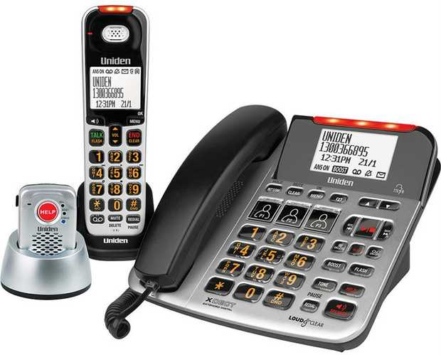 XDECT Digital Technology Phone System 50 Caller ID Memories 200 Phonebook Entries on each Handset...