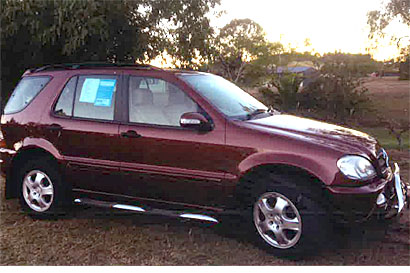 MERCEDES BENZ ML270 