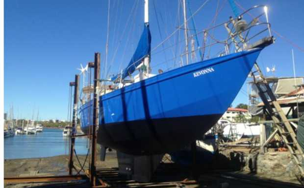 Roberts 15 m Steel Cutter Rig Sloop    Built in 2000, Regretful Sale Due To ill Health. Moored at...