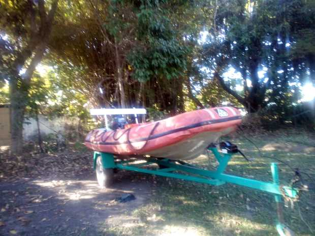 3.5m Rescue Boat   25hp Yamaha $1000