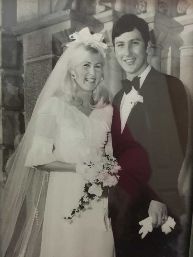 Congratulations - celebrating 50 years of marriage! Lots of love, Kate, Richard, Mike, Vanessa, Jen...