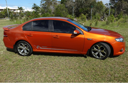 2010 50TH ANNIVERSARY XR6 Falcon, 6 spd auto, E/C, 4L Barra motor engine, 93,700 kms, rego 7/20...