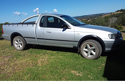2006 Falcon Ute, automatic, rego till 30/9/19, RWC, sports bar, diff lock, Tourno cover, 175,000 klm...