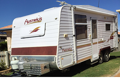 2010 Australis 20ft - AS NEW - SEMI OFF-ROAD
