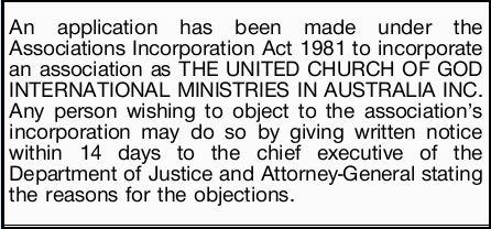 Application | Public Notices | Brisbane | The Courier Mail