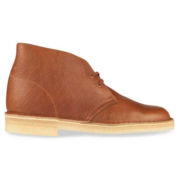 Originally designed by Nathan Clark in 1950 as a gentlemen's and officer's choice of footwear for R & R...