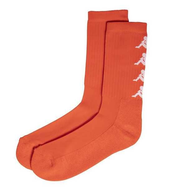 Introducing Kappa socks to Hype DC. This is the Amal sock, a crew cut featuring woven logos on the rear...