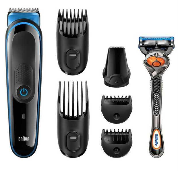 Beard styling Hair clipping Lifetime lasting sharp blades Lifetime lasting power (60mins) Fully...