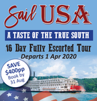 Sail USA - A TASTE OF THE TRUE SOUTH
