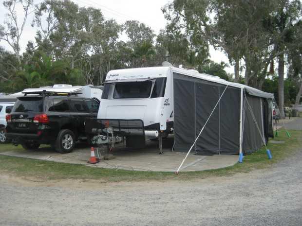 2015 Silverline Out Back Caravan. 2 solar panels. 2 100amp batteries, 2 spare tyres. Model number...