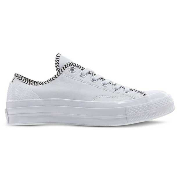 V is for Victorious and these Mission-V Chuck Taylor 70s are decked out in them with a herringbone trim...