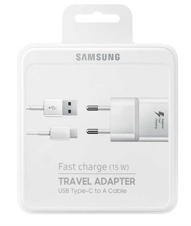 Travel Adapter Unit USB Type-C 2.0 Cable Wall Charger White colour  Input Voltage: 100-240 V Output...