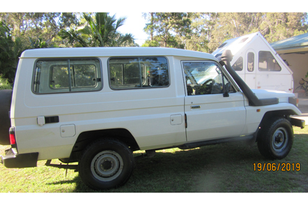 TOYOTA TROUPY 1 owner, no beach work, A/C, man, body guard, tint, decked out for camping, E/C, rego...