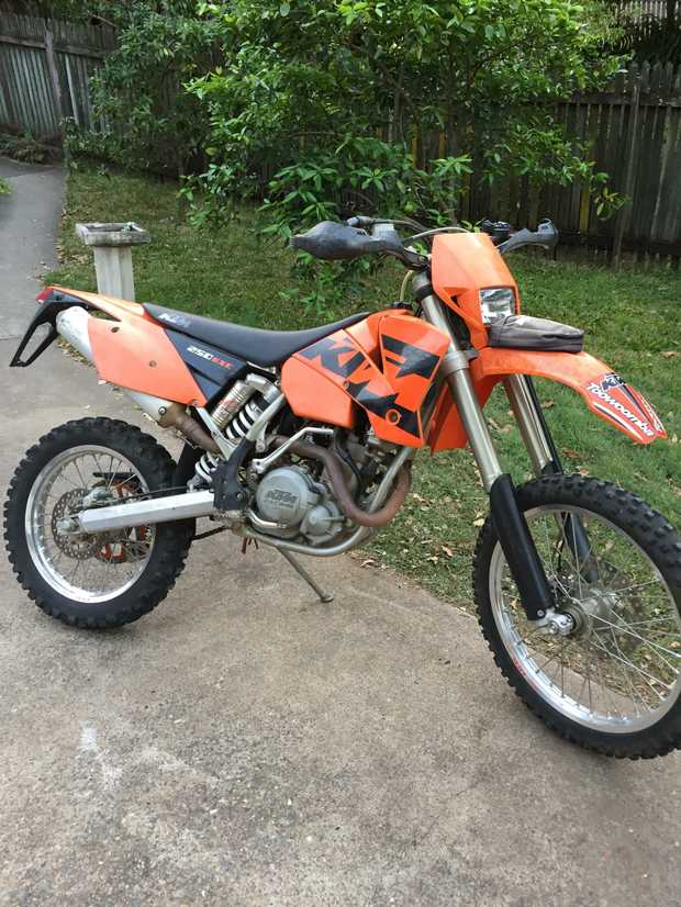 KTM EXCF 2004 Electric Start  