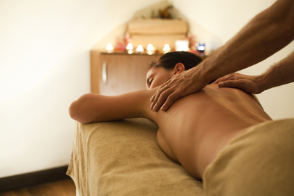Chinese amazing full body massage.   