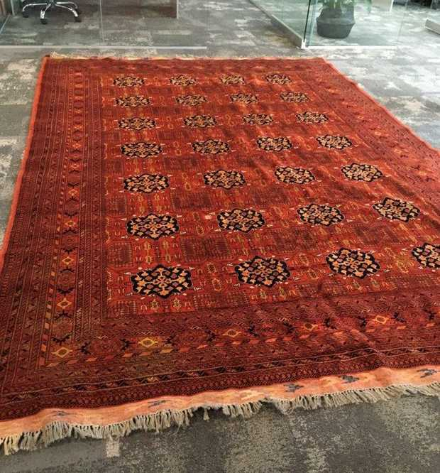 Vintage Persian Rugs   2x hand knotted Tribal Pakistani/Afghan Pure Wool Rugs.   Princess Bakhara...
