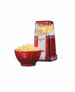 Popcorn machine with compact retro design. Thanks to the special method of cooking with hot air, it...