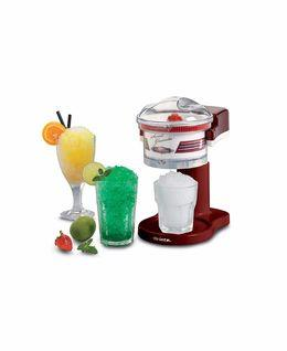 Fresh slushy drinks made in seconds. Just add the ice cubes, start the appliance, pour on the syrup and...