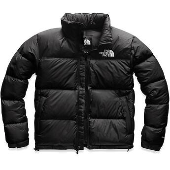 Built for mountain- and city-life, this retro Nuptse jacket that has a boxy silhouette, original shiny...