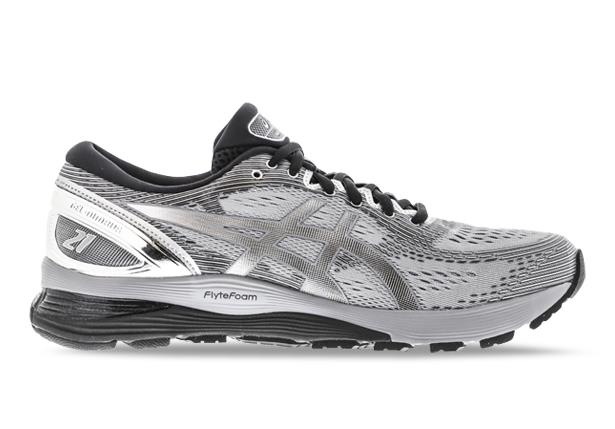 Celebrating 21 years the ASICS GEL- Nimbus 21 wide is a staple in the neutral category. Designed with a...