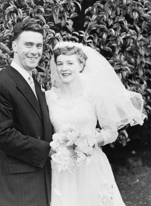 Happy 65thWedding Anniversary    Dorothy and Rupert Salisbury.   All our love today and...