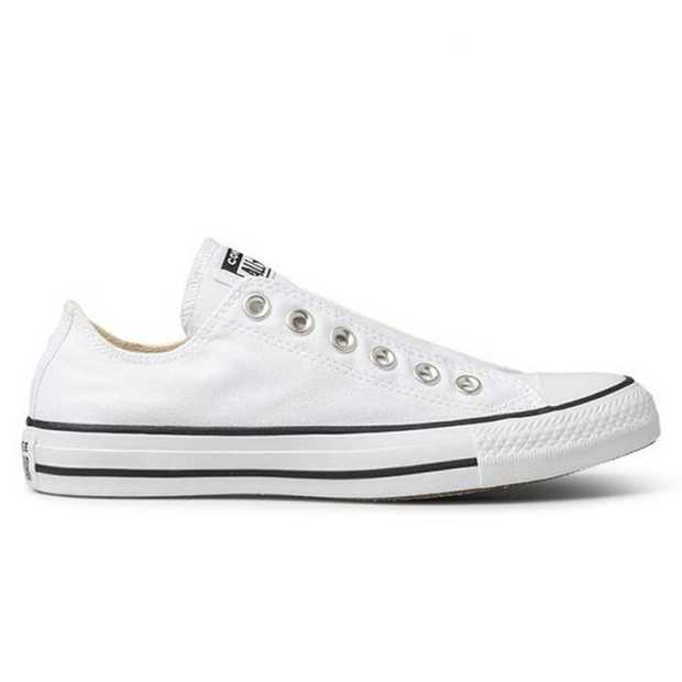 Converse's All Star Slip Low Top is a reimagined Chuck Taylor, perfect for that easy on and off access.