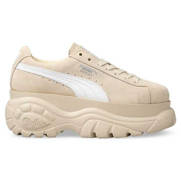 Amidst the 'chunky sneaker' craze, Puma teams up with Buffalo footwear to produce to the chunkiest of...