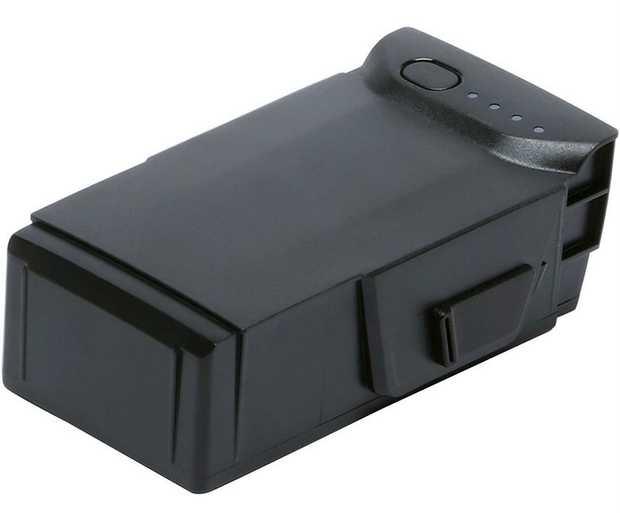 LiPo 3S battery 2375 mAh capacity 11.55V, Max 13.2V 27.43 Wh energy Provides up to 21min flight time...