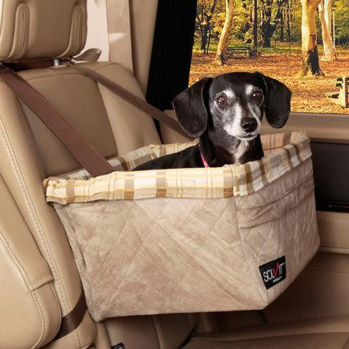 Solvit Deluxe Booster Safety Seat for Dogs - Large