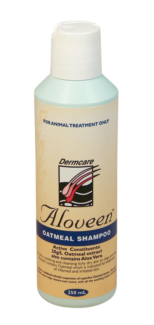 Aloveen Oatmeal Shampoo for Dogs with Sensitive Skin - 250ml