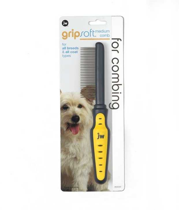 JW Gripsoft Shedding Dog Comb