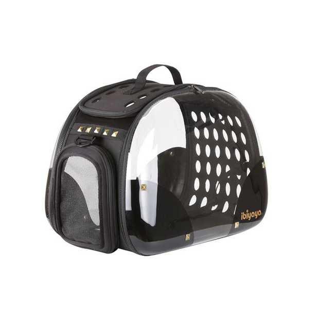IBIYAYA Hard Rock Transparent Hardcase Pet Carrier