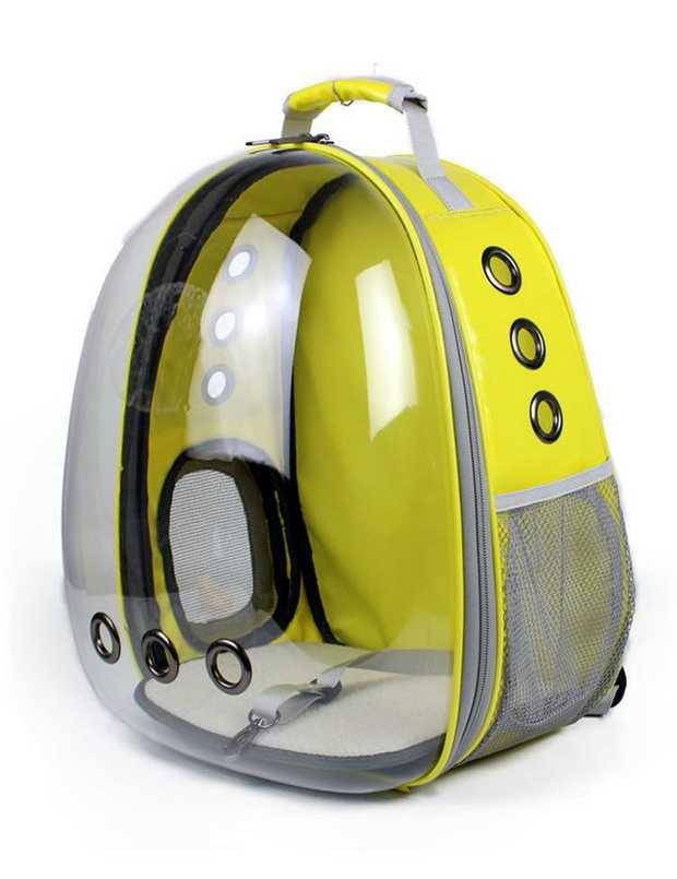 Astropet Jelly Series Pet Travel Backpack for Cats & Dogs up to 5kg - Yellow