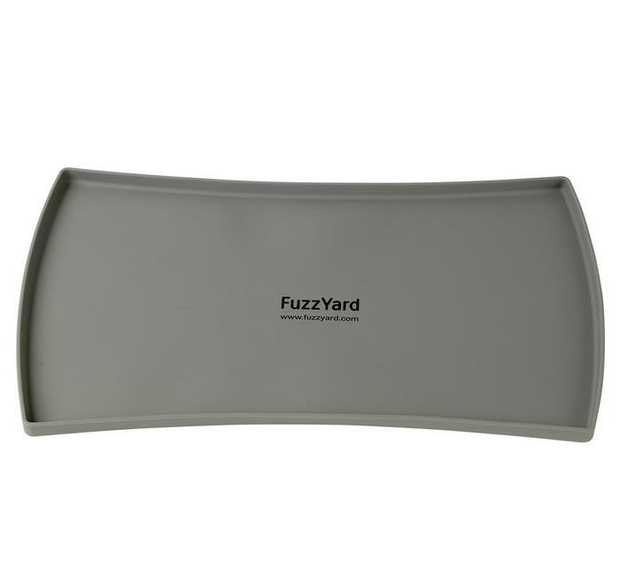 Fuzzyard Spill Proof Silicon Pet Food Mat [Colour: Grey]