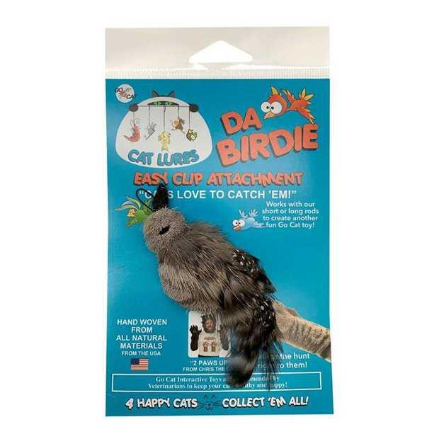 Go Cat Da Birdie Replacement Toy for the Da Bird Cat Wand Toy