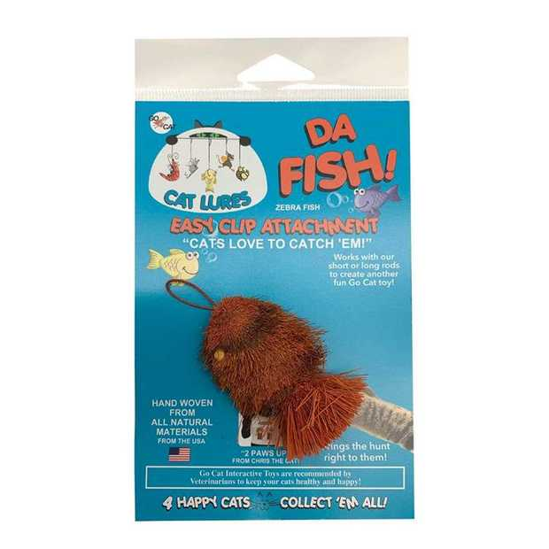 Go Cat Da Goldfish Replacement Toy for the Da Bird Cat Wand Toy