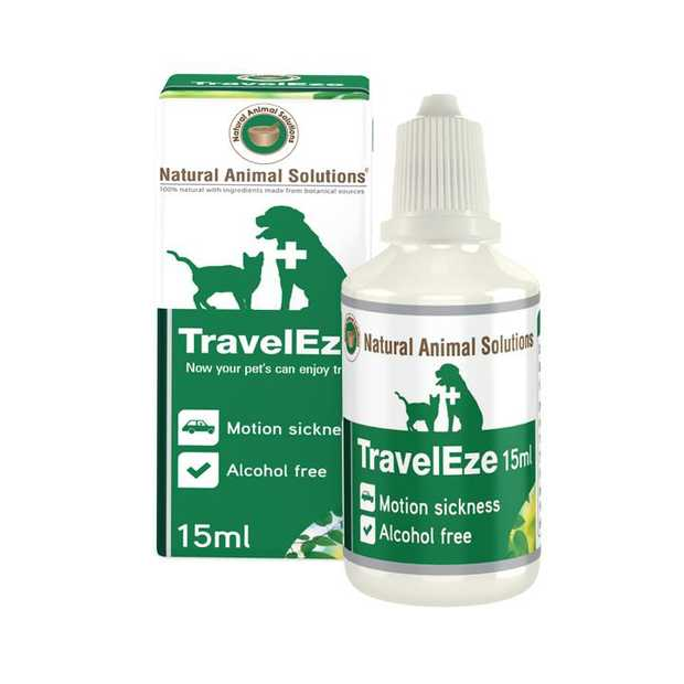 Natural Animal Solutions TravelEze for Cats & Dogs 15ml