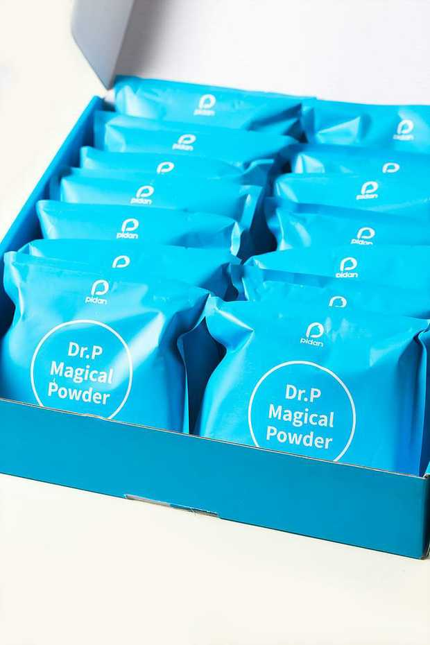 Pidan Dr.P Magical Powder Cat Litter Deodoriser - 8 Bags per Box