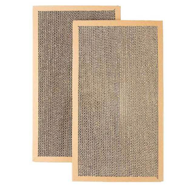 PIDAN Cat Scratcher Wave Refill Replacement Cardboard Inserts - 2 pieces